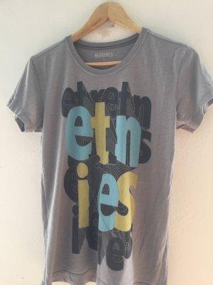 Etnies T-shirt imprimé gris