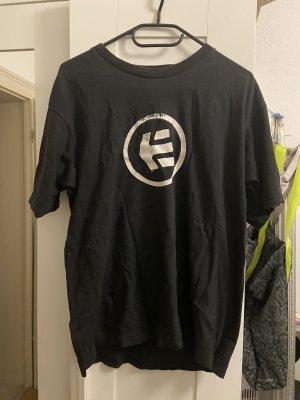 Etnies T-shirt noir-blanc