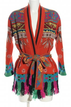 Etro Cardigan Allover-Druck Casual-Look