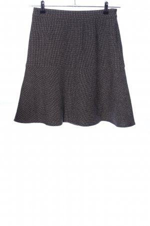 Etro Godet Skirt black-light grey flecked business style