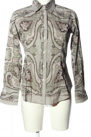 Etro Langarm-Bluse Mustermix Business-Look