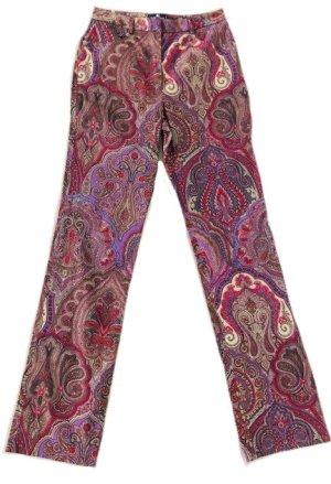 Etro Five-Pocket Trousers multicolored cotton