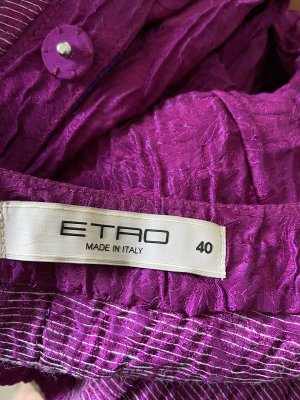 Etro Short Blazer multicolored