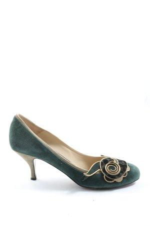 Etro Klassische Pumps grün Elegant