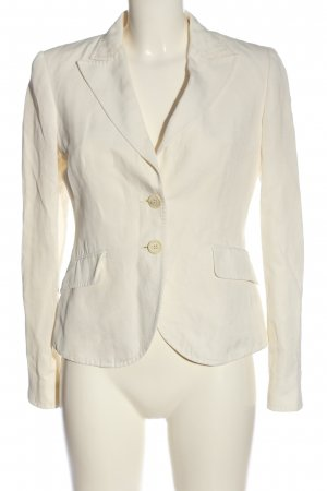 Etro Short Blazer natural white business style