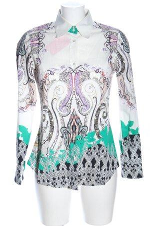 Etro Langarm-Bluse grafisches Muster Elegant