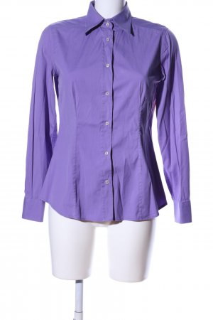 Etro Camisa de manga larga lila estilo «business»