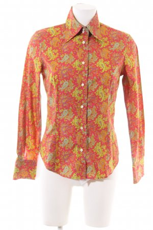 Etro Long Sleeve Shirt abstract pattern casual look