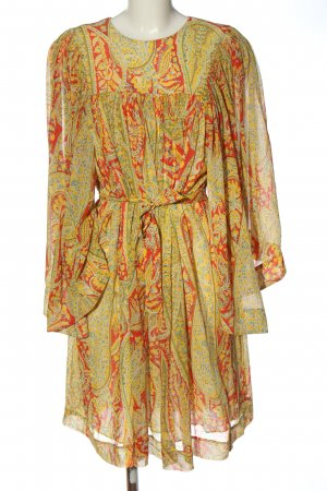 Etro Langarmkleid abstraktes Muster Casual-Look
