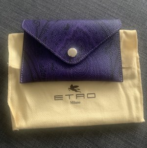 Etro Pochette black-dark violet
