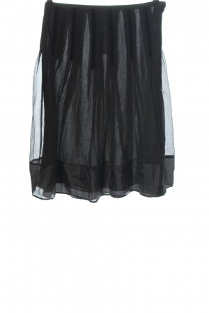 Etro Milano Gonna in seta nero elegante