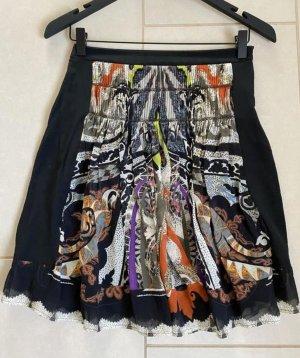 Etro Silk Skirt multicolored
