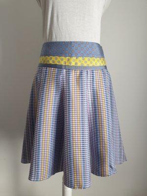 Etro Midi Skirt yellow-light blue