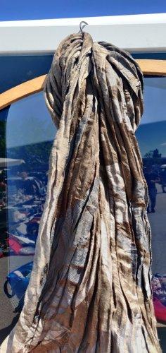 Etro Milano Zijden sjaal khaki