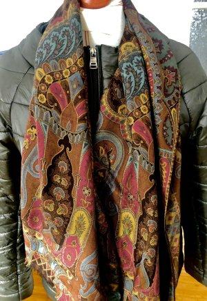 Etro Zijden sjaal oker