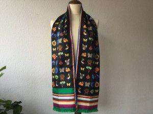Etro Sciarpa di seta multicolore