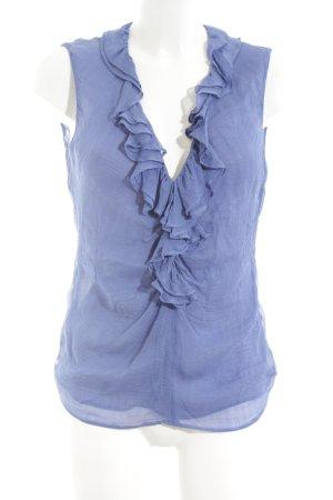 Etro Silk Top blue casual look