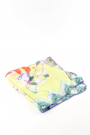 Etro Silk Cloth flower pattern casual look