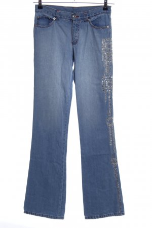 Etro Straight Leg Jeans blue casual look