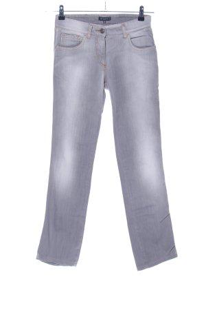 Etro Stretch Jeans hellgrau-weiß Casual-Look