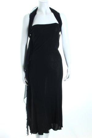 Etro Trägerkleid schwarz klassischer Stil