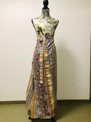 Etro Wraparound Skirt multicolored silk
