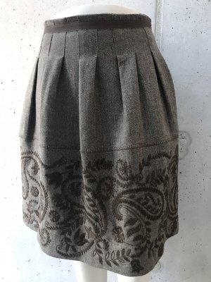 Etro Wollen rok beige-bruin