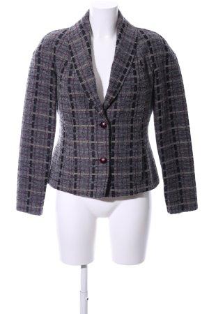 Etro Blazer in lana motivo a quadri stile casual