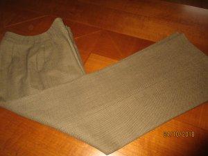 Etro Pantalone di lana verde oliva Lana vergine