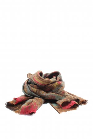 Etro Écharpe en laine imprimé allover style décontracté