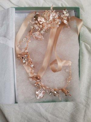 Etsy Cinturón pélvico color plata-color rosa dorado