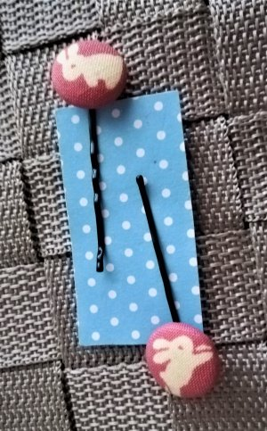 Etsy Hair Pin multicolored