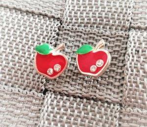 Etsy Rockabilly Ohrstecker Apfel