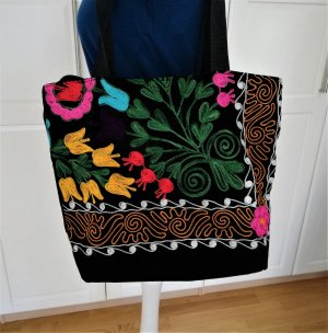 Etsy Tasche mit Blumen Stickerei