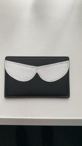 Rena Lange Custodie portacarte nero-bianco