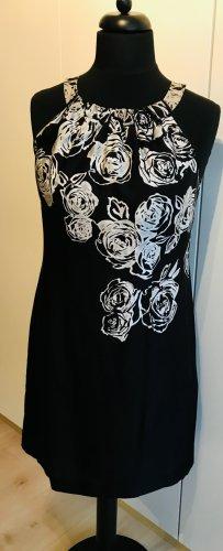 s.Oliver Sheath Dress black-light grey viscose