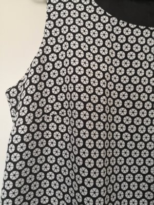 Studio Vestido ceñido de tubo blanco-negro
