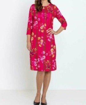 Etui Kleid Etuikleid mit Blumendruck Blume Blumen blumig floaral NEU 42 XL