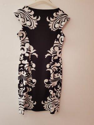 Etui Kleid gr 36 Farbe schwarz weiß