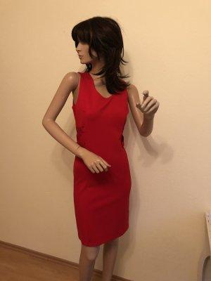 Etui Kleid rot XS 34 Abendkleid Cocktailkleid Silvester Weihnachten