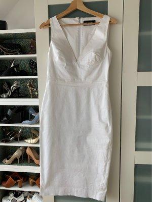 Etui Kleid von dsquared in italienischer Größe 42 weiß