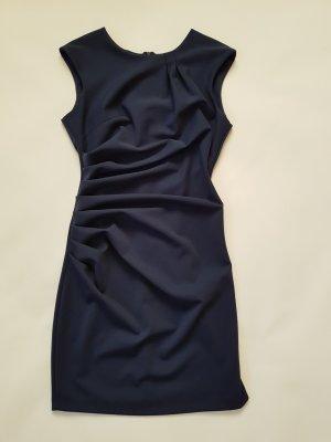 Rinascimento Vestido ceñido de tubo azul oscuro