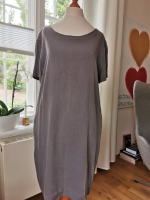 Cartoon Sheath Dress slate-gray viscose