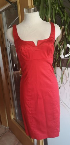 Apart Sheath Dress brick red