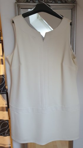 C&A Yessica Robe fourreau blanc cassé