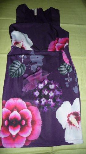 b.p.c. Bonprix Collection Abito aderente viola scuro-viola