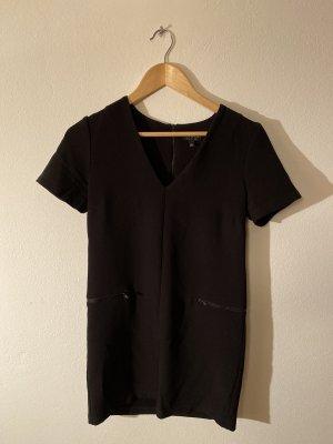 Topshop Vestido ceñido de tubo negro