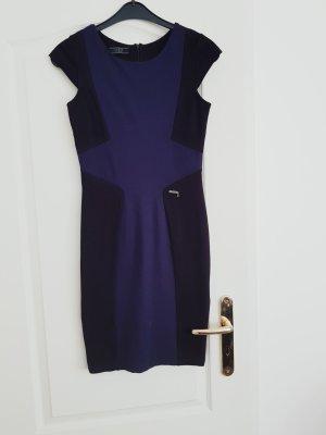 Guess Sukienka etui niebieski-ciemnoniebieski