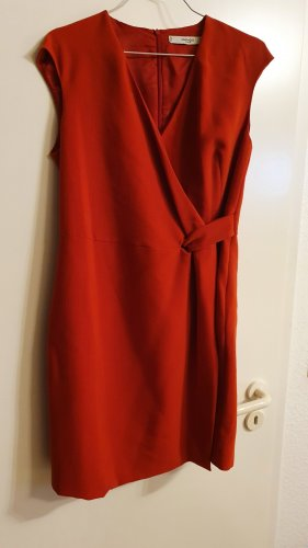 Mango Robe fourreau rouge-rouge brique