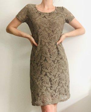 More & More Sukienka etui taupe-szaro-brązowy